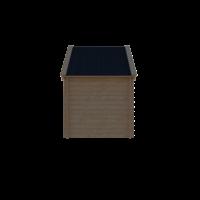 DWF Blokhut kapschuur 200 x 250cm