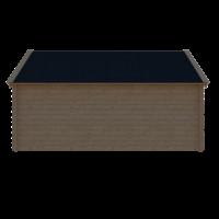 DWF Blokhut kapschuur 500 x 250cm