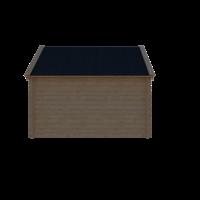 DWF Blokhut kapschuur 350 x 250cm