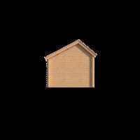 DWF Blokhut kapschuur 200 x 300cm