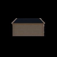 DWF Blokhut kapschuur 450 x 300cm