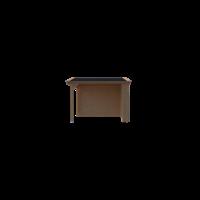 DWF Houten overkapping zadeldak 250 x 300cm