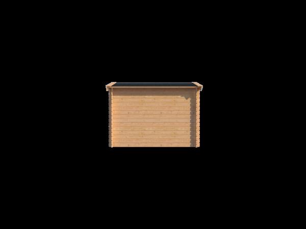 DWF Houten overkapping zadeldak 150 x 300cm