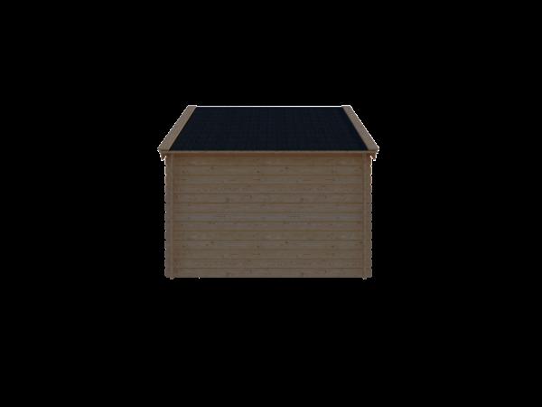 DWF Blokhut kapschuur 300 x 350cm