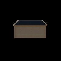 DWF Houten overkapping Kapschuur dak 450 x 350cm