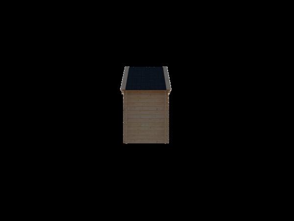 DWF Houten overkapping Kapschuur dak 150 x 200cm