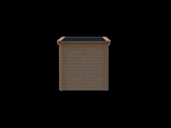 DWF Blokhut zadeldak 250 x 200cm