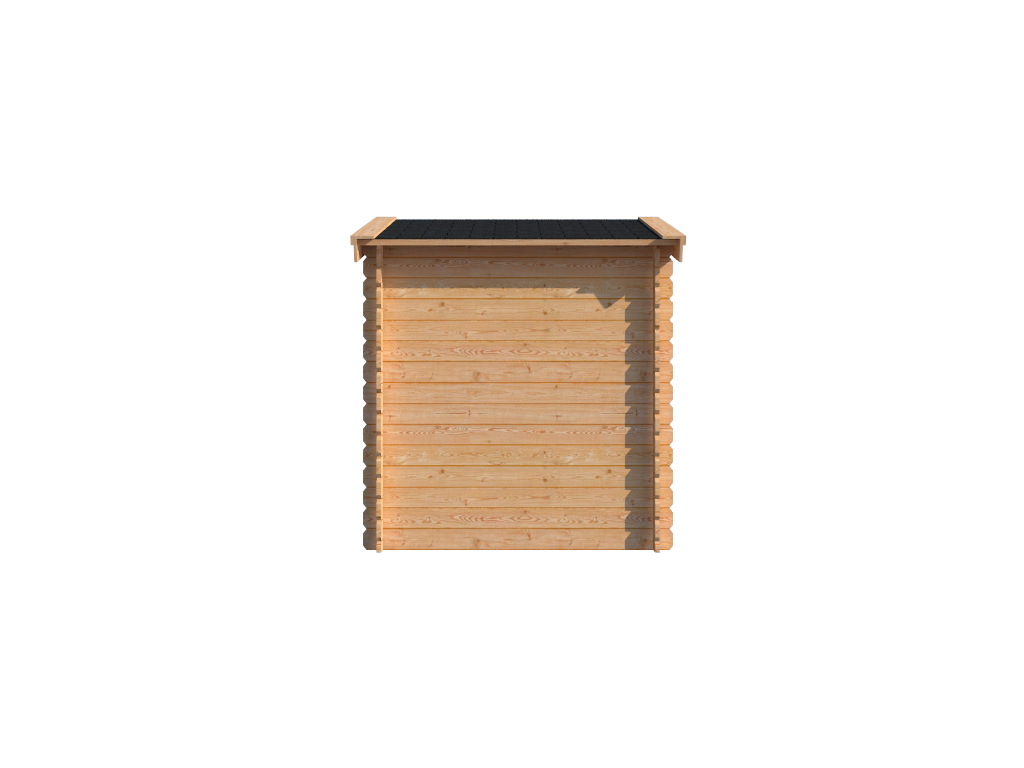 DWF Blokhut zadeldak 200 x 200cm