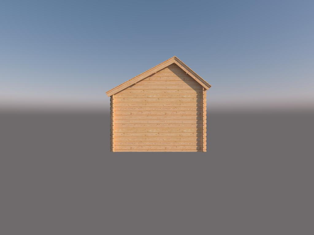 DWF Houten overkapping Kapschuur dak 200 x 300cm