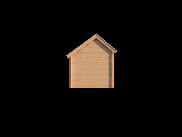 DWF Houten overkapping Kapschuur dak 150 x 250cm