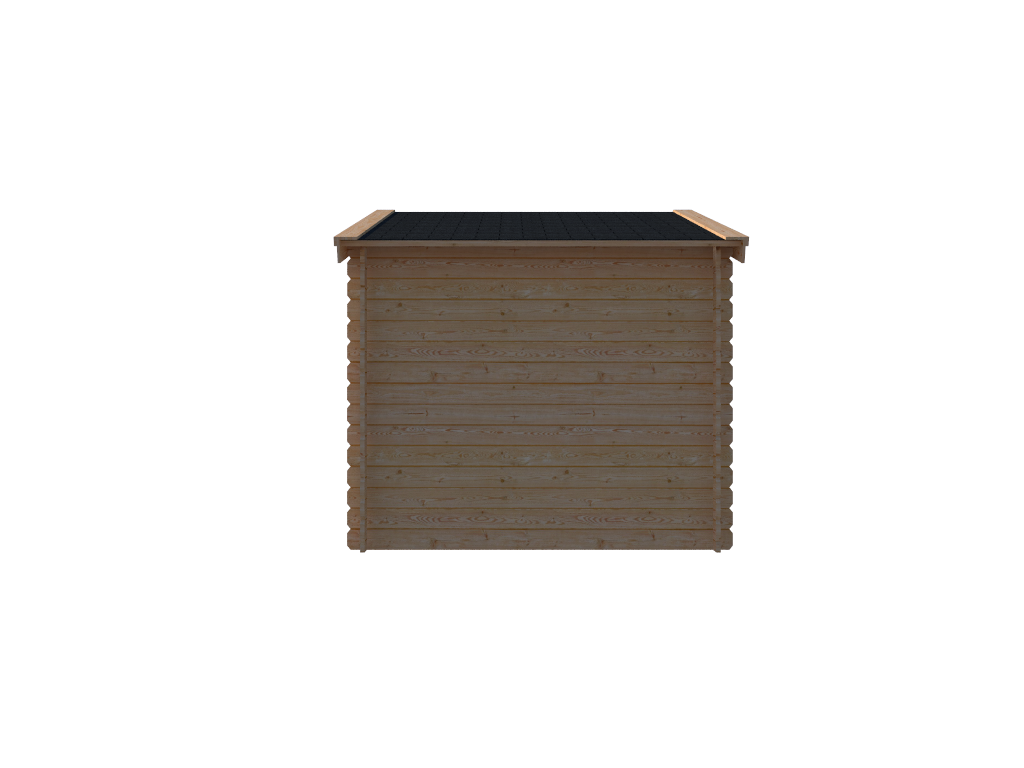 DWF Blokhut zadeldak 350 x 250cm