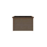 DWF Blokhut zadeldak 300 x 300cm