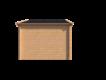 DWF Blokhut zadeldak 400 x 300cm