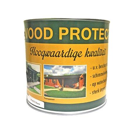 Wood Protect beits dekkend wit