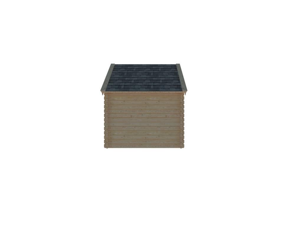 DWF Houten overkapping Kapschuur dak 250 x 250cm