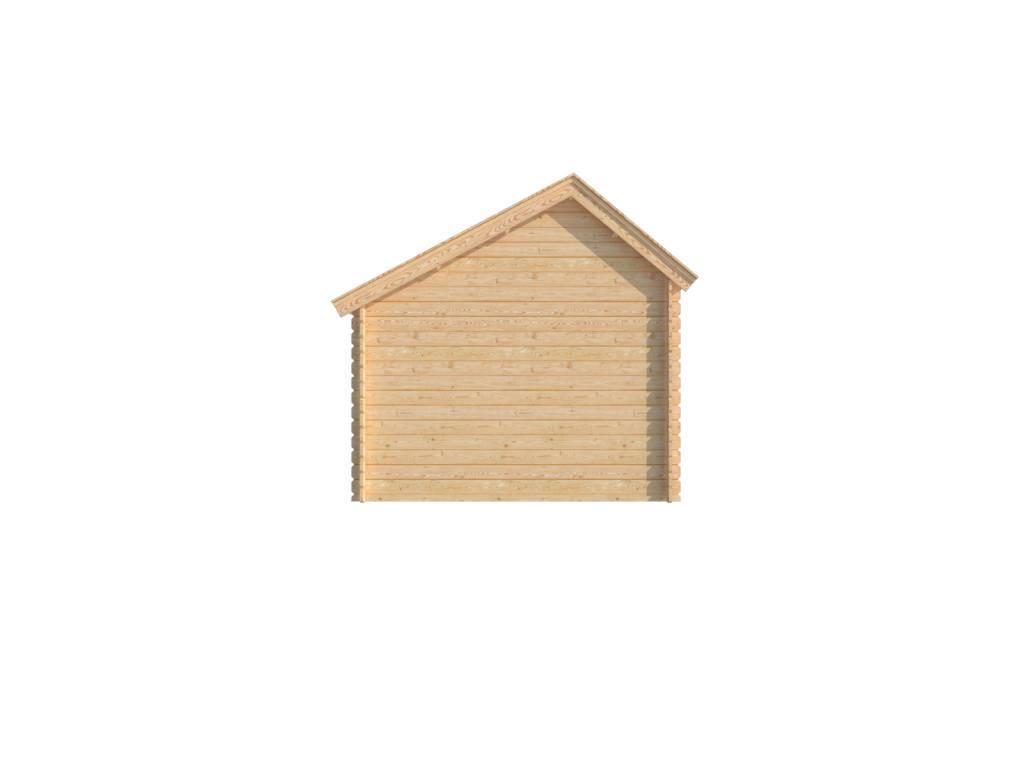 DWF Houten overkapping Kapschuur dak 250 x 300cm