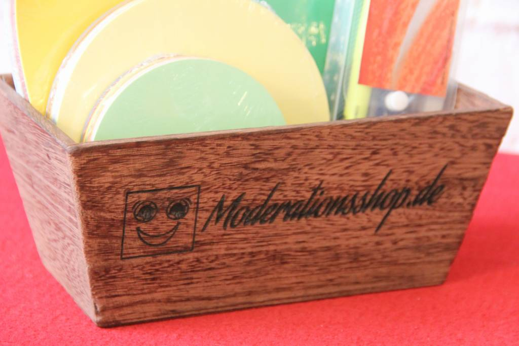 """die Dicken"" by Datamondial UG Hochwertiger Materialsammler in Holzoptik"