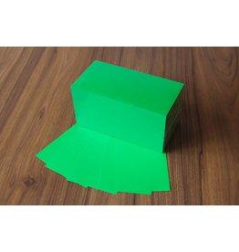 "Datamondial ""die Dicken"" Moderationskarten Rechteck  10x20cm, 500 Stück, Farbe intensiv grün"