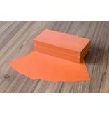 """Datamondial """"die Dicken"""" Moderationskarten Rechteck  10x20cm, 250 Stück, Farbe intensiv orange"""