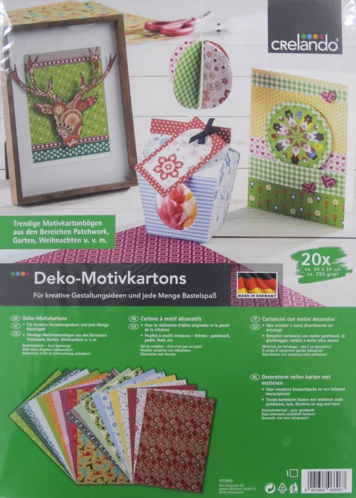 Crelando Crelando Deko-Motivkartons