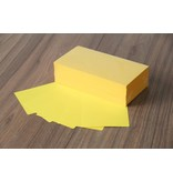 """Datamondial """"die Dicken"""" Moderationskarten Rechteck  10x20cm, 250 Stück, Farbe intensiv gelb"""
