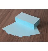"""Datamondial """"die Dicken"""" Moderationskarten Rechteck 10x20cm, 250 Stück Farbe pastellblau"""