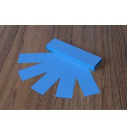 """Datamondial """"die Dicken"""" Moderationskarten Rechteck  4x20cm oder 5x20cm, 100 Stück,  Intensiv Blau"""