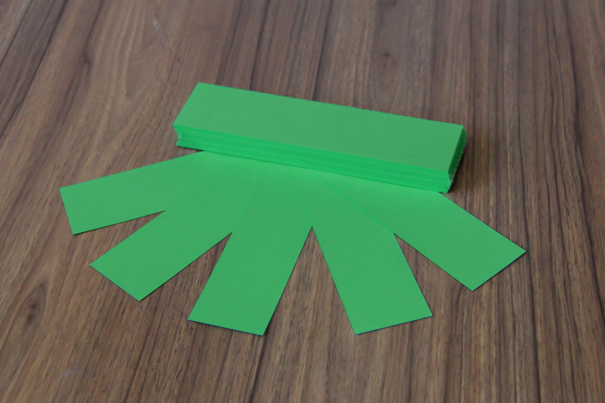 "Datamondial ""die Dicken"" Moderationskarten Rechteck  4x20cm oder 5x20cm, 100 Stück,  Intensiv Grün"