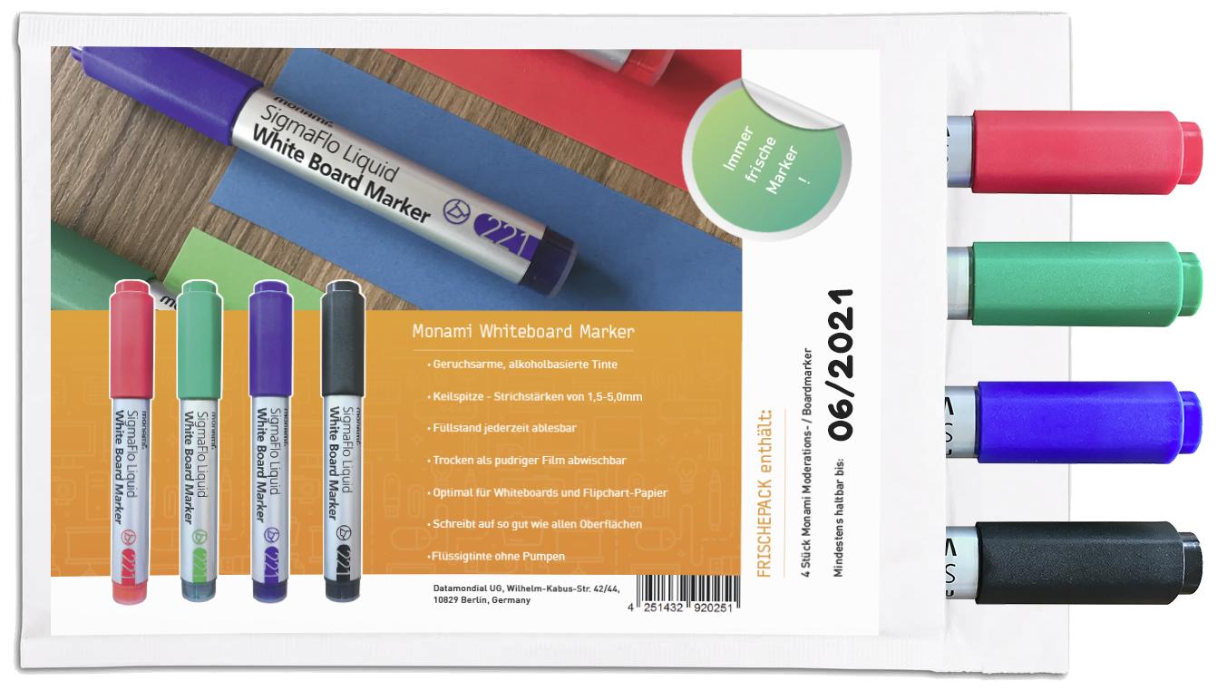 Frischepack - Monami Sigmaflo Liquid - Whiteboard Marker