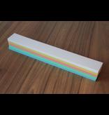 """Datamondial """"die Dicken"""" Moderationskarten Überschriftenstreifen 5x40cm, 250 Stück in Pastellfarben"""