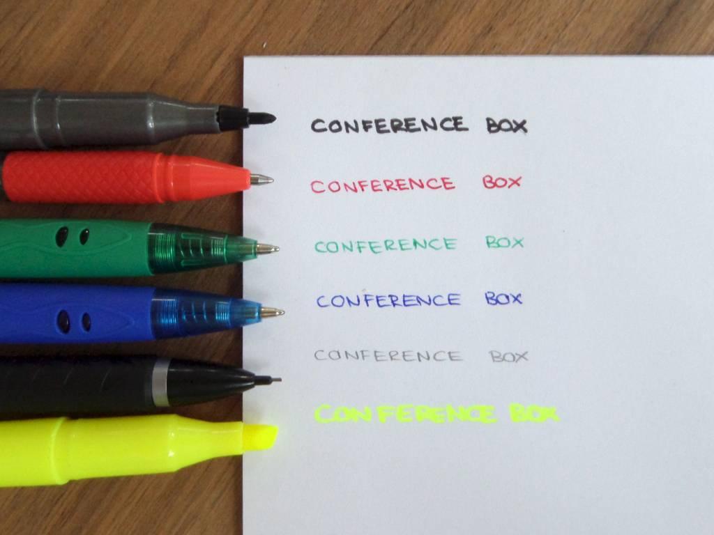 Datamondial Conference Box - Das Equipment für eine erfolgreiche Konferenz