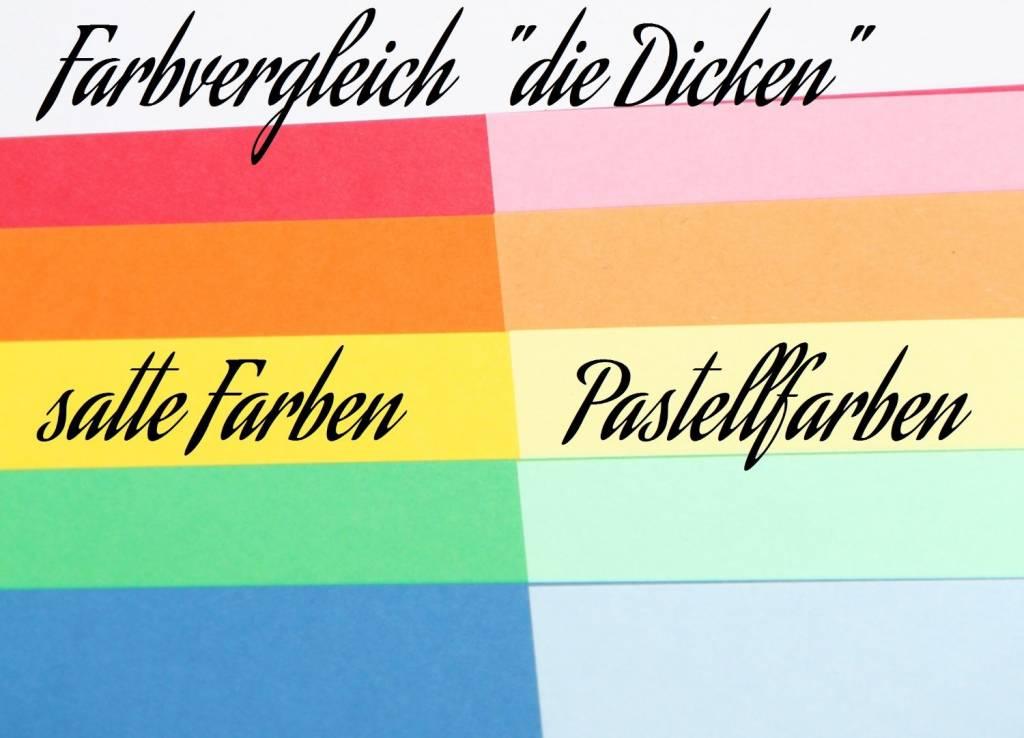 """""""die Dicken"""" by Datamondial UG             """"die Dicken"""" Moderationskarten Rechteck  10x20cm, 500 Stück, Farbe  pastellblau"""