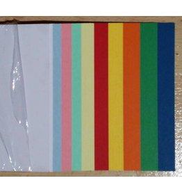 """""""die Dicken"""" by Datamondial UG Moderationskarten / Überschriftenstreifen Rechtecke 10x45cm, 50 Stück, Farben pastell & intensiv"""