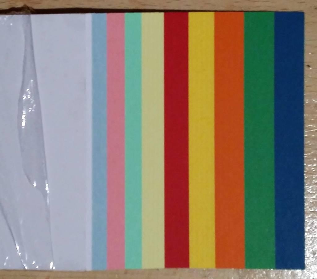"""""""die Dicken"""" by Datamondial UG Moderationskarten / Überschriftenstreifen, Rechtecke 10x45cm, 50 Stück, Farben pastell & intensiv"""