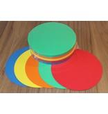 """""""die Dicken"""" by Datamondial UG """"die Dicken"""" Moderationskarten Kreis  Ø 20cm, 250 Stück, intensive Farben"""