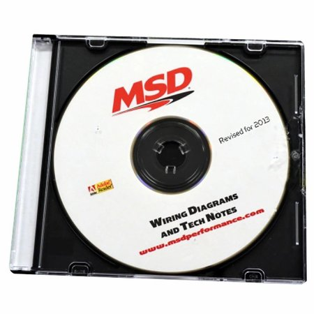 MSD Ignition CD-ROM Wiring Diagrams and Tech Notes on