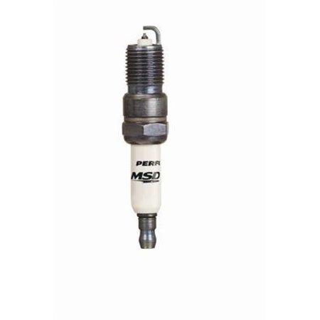 MSD Ignition 15IR5Y Spark Plug, 4 Per Package