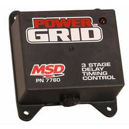 MSD Pro Mag Programmable, 3-Stage Delay Timer, Power Grid