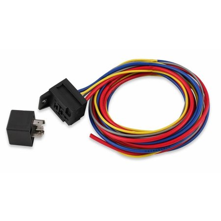 MSD Ignition Electric Fan Harness & Relay Kit, 195 Degree, 30A