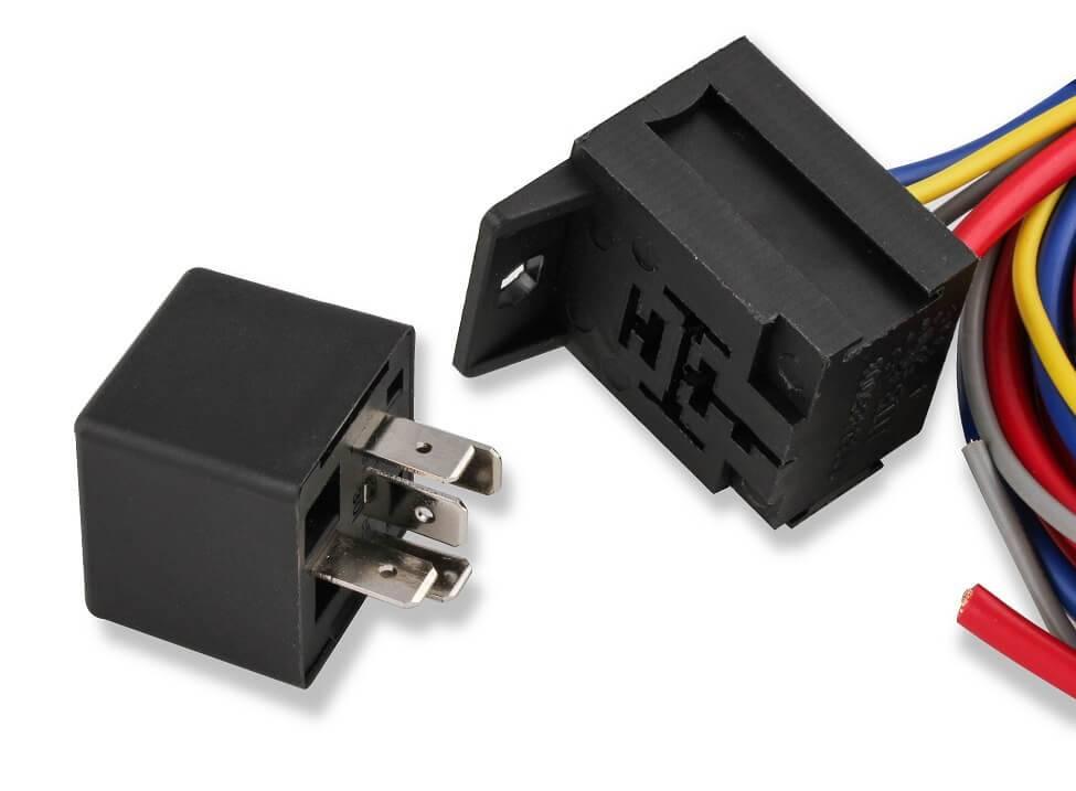 Electric Fan Harness & Relay Kit, 195 Degree, 30A ... on