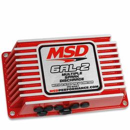 MSD Ignition 6AL-2 met 2-Stufen-Drehzahlregelung Universal