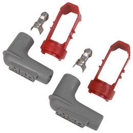 MSD Powersports Bougiedopklemmen, alleen voor 13/16 aansluiting, set van 2