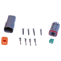 MSD Ignition Connector, Deutsch, 4-Pin Connector Assembly