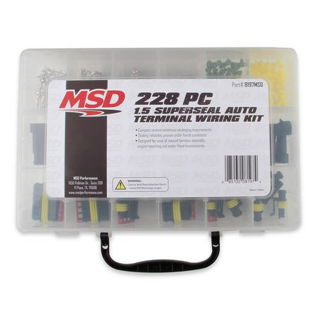 MSD Ignition Superseal Connector Kit
