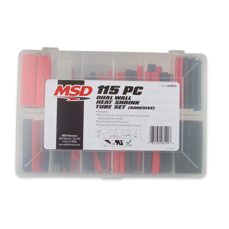 MSD Ignition Shrink Sleeving