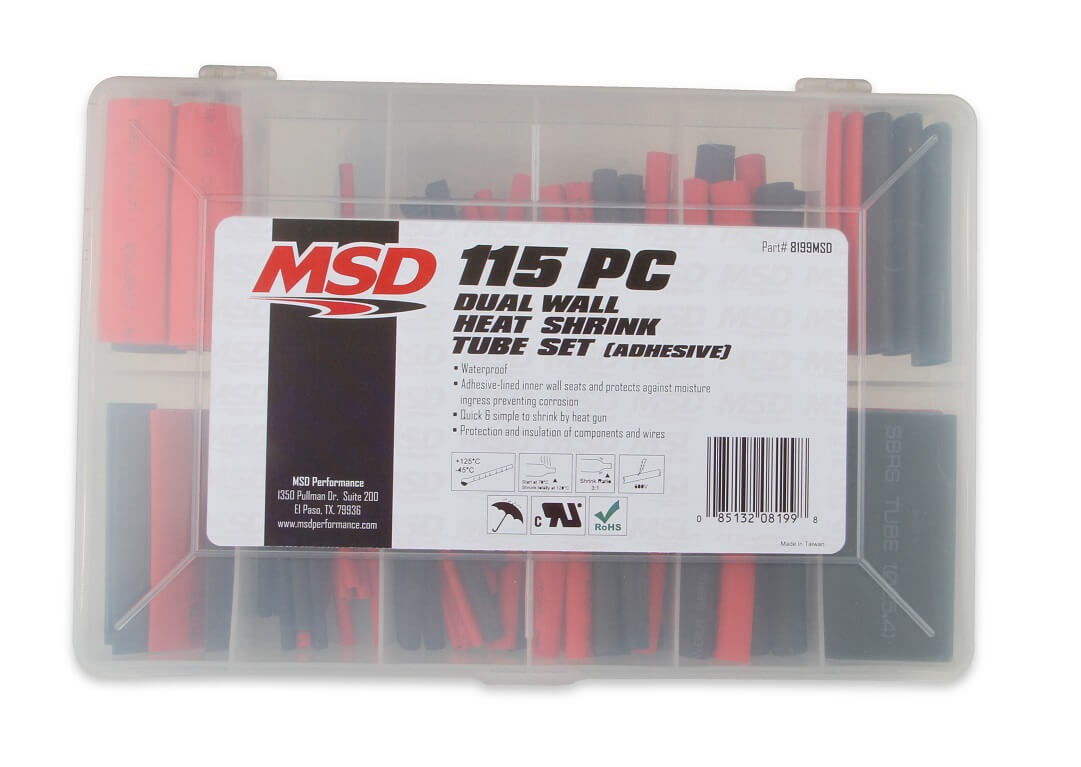 MSD Ignition 8199MSD Shrink Sleeving   Ignitionproducts eu