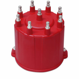 MSD Ignition Distributor Cap, GM HEI, Late Model, External Coil
