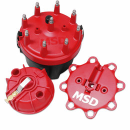 MSD Ignition Cap-A-Dapt Kit with Fixed Rotor