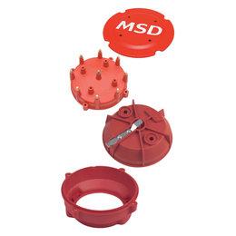 MSD Ignition PRO-Cap-A-Dapt Kit, fits pro-billet Distributors