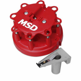 MSD ignition Cap/Rotor Kit, Ford Duraspark Stock style
